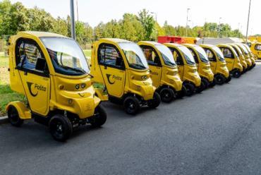 Vozni park Hrvatske pošte veći za 20 novih električnih vozila