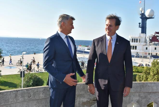 Američki investitori susreli se sa županom Zadarske županije Božidarom Longinom
