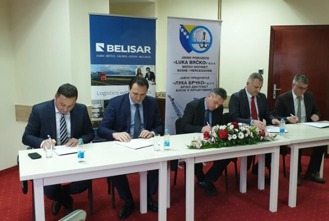 Memorandum o unaprjeđenju intermodalnog prijevoza robe u Brčko distriktu BiH