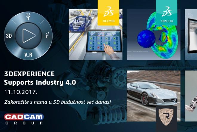 Najmodernije tehnologije za inženjerstvo u Zagrebu 11.10. na 3DEXPERIENCE forumu