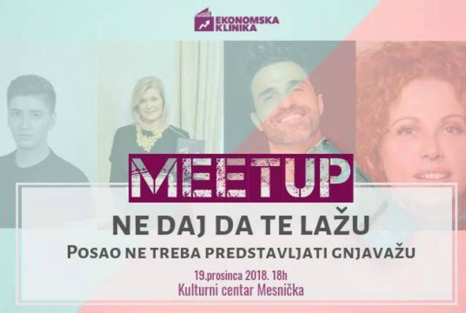 Ekonomska klinika i ove godine organizira panel raspravu MeetUp