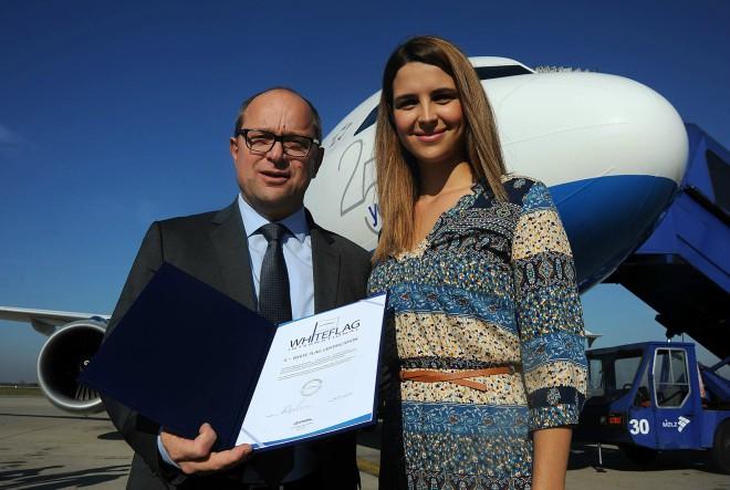 Croatia Airlines dobio Bijelu zastavu