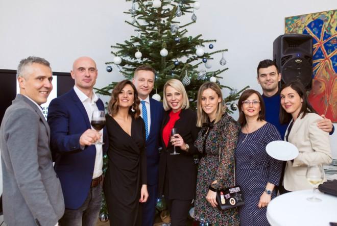 Božićni domjenak HGK okupio novinarsku elitu
