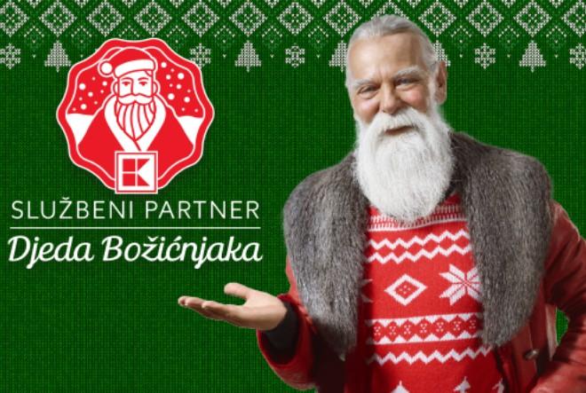 Kaufland – službeni partner Djeda Božićnjaka