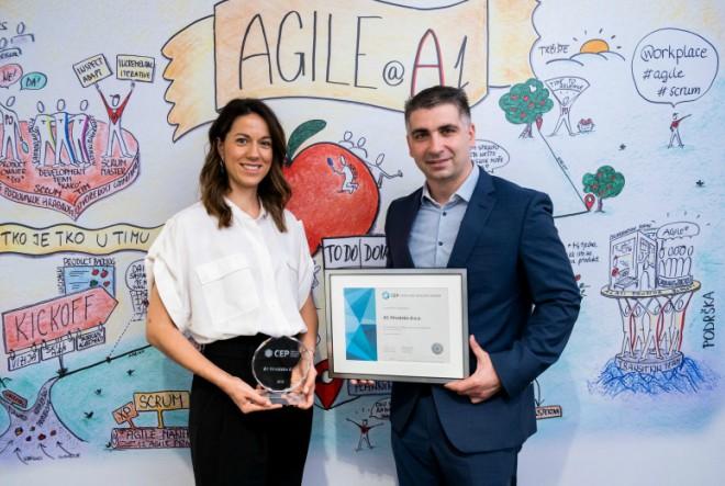 A1 Hrvatska nagrađen za izvrsnost u upravljanju zaposlenicima – i ove godine je Poslodavac Partner!