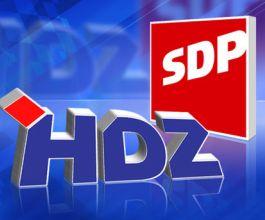 Rejting SDP-a sve slabiji, raste podrška HDZ-u