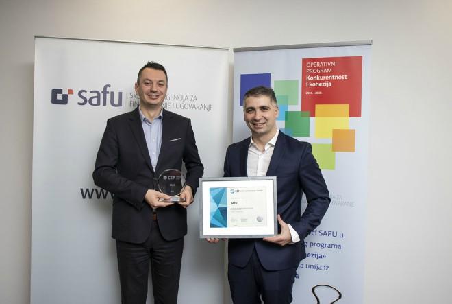 SAFU jedina državna agencija s certifikatom Poslodavac Partner