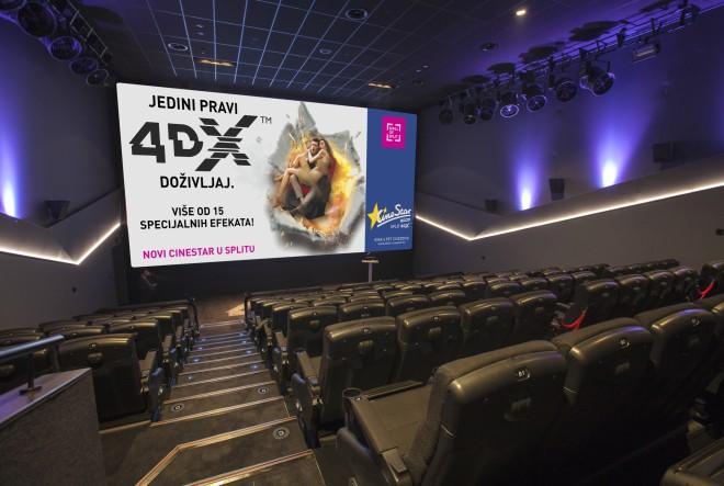 CineStar otvara najveće i najmodernije kino u Dalmaciji