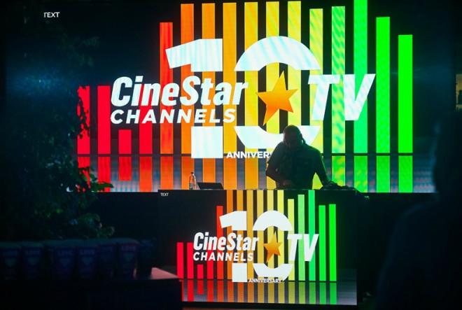 CineStar TV Channels proslavili 10 godina emitiranja