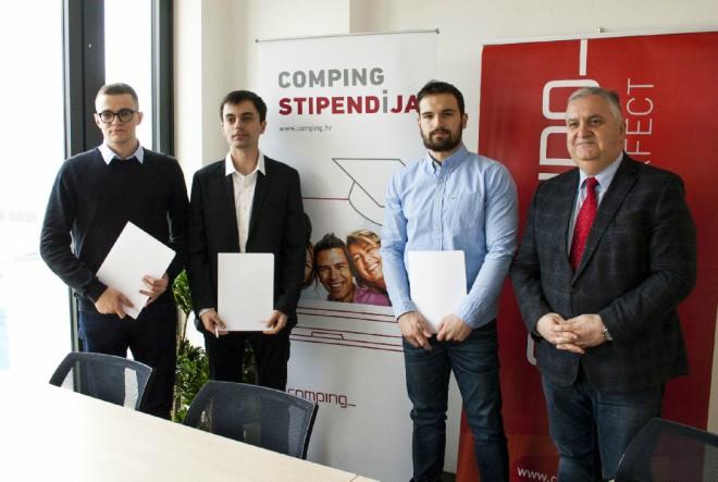 Comping dodijelio nove stipendije izvrsnim studentima