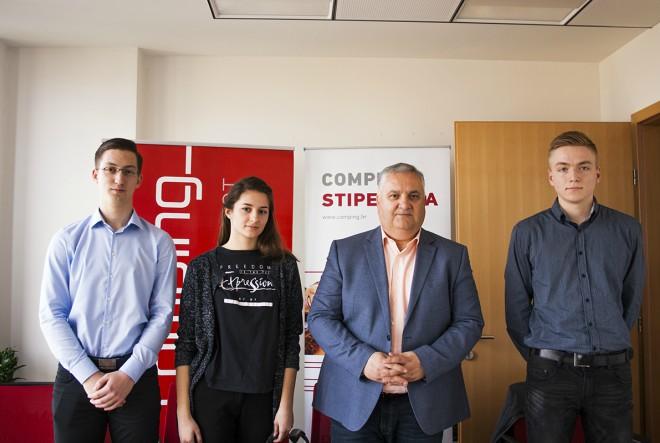 Comping dodijelio stipendije izvrsnim studentima