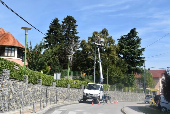 U Svetom Ivanu Zelini započeli radovi na zamjeni postojeće javne rasvjete novim LED svjetiljkama