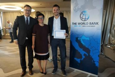 Predsjednik CRANE-a Davorin Štetner primio priznanje Svjetske banke