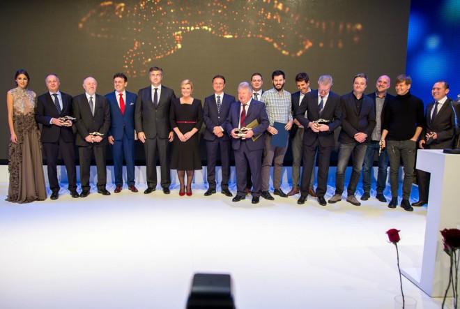 Politička i poduzetnička elita na gospodarskom Oskaru