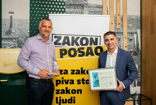 Zagrebačka pivovara i dalje na prvom mjestu liste TOP Poslodavaca Partnera