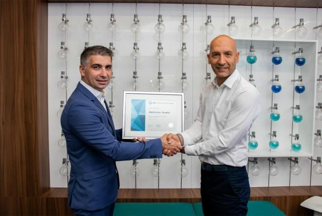 Tvrtki AbbVie treću je godinu zaredom uručen certifikat Poslodavac Partner