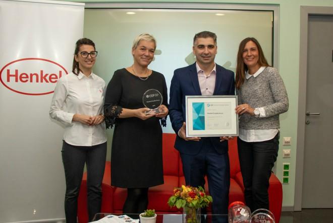 Henkel ponovno nagrađen certifikatom Poslodavac Partner