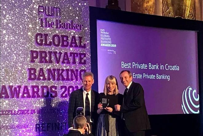 The Banker i PWM proglasili Erste uslugu privatnog bankarstva najboljom u Hrvatskoj, Austriji i SIE regiji