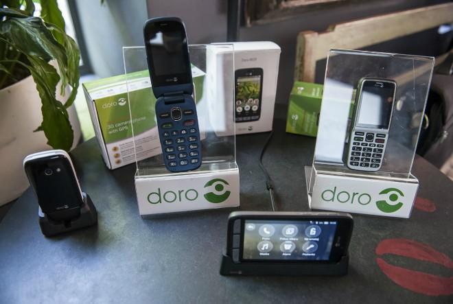 Doro, švedski lider na tržištu mobitela za stariju populaciju po prvi put u Hrvatskoj