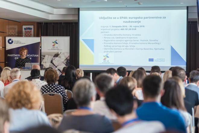 Međunarodnom stručnom konferencijom završen projekt Uključite se u EP4A: europska partnerstva za naukovanje