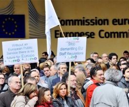 Činovnici EU-a pripremaju masovni štrajk