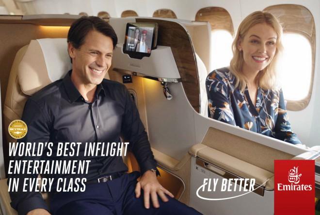 "Emirates predstavlja novu kampanju ""Fly Better"""