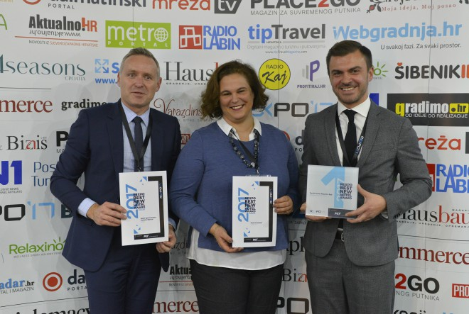 Dodijeljena REXPO Best New Hotel Award 2017