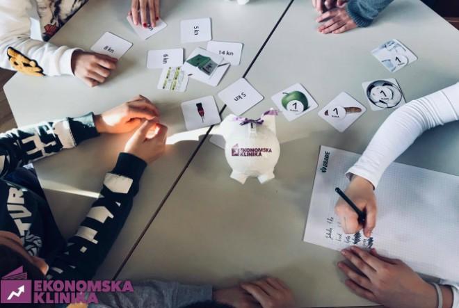 """Udruga Ekonomska klinika pokrenula je aplikaciju u sklopu projekta """"Financijska pismenost osnovnoškolaca"""""""