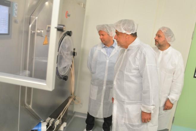 Gradonačelnik Zagreba posjetio tvrtku Alkaloid AD Skopje