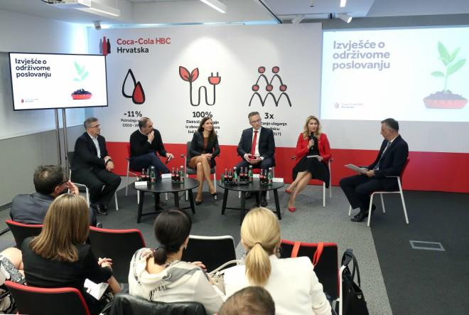 Coca-Cola HBC Hrvatska i dalje predvodnik u održivome i društveno odgovornome poslovanju