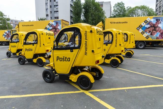Dvadeset električnih vozila za čišću i lakšu dostavu u gradskim jezgrama