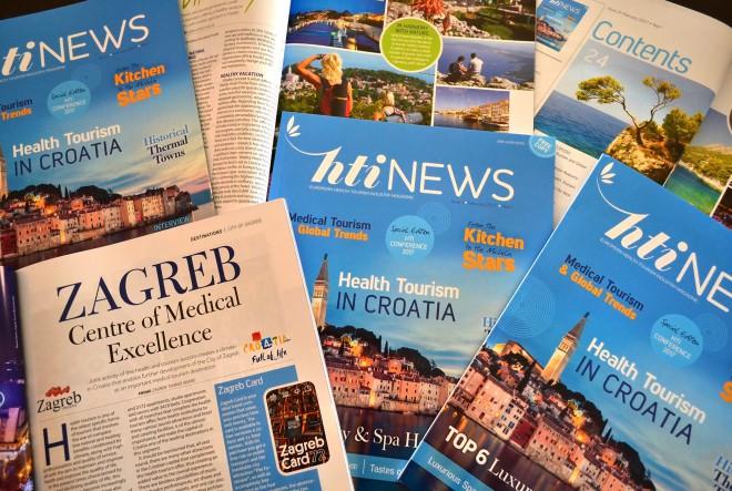 HTI News – hrvatska tvrtka izdavač prvog europskog magazina za promociju zdravstvenog turizma