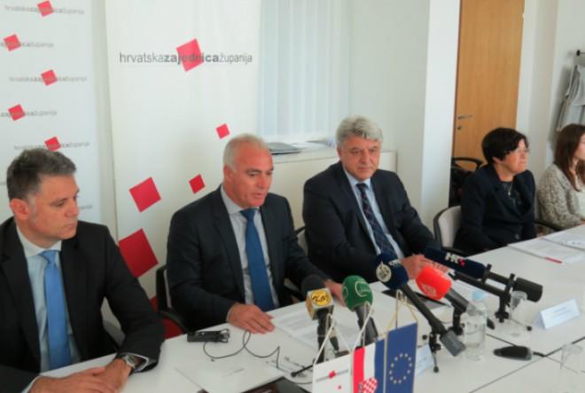 """Hrvatska zajednica županija službeno predstavila aplikaciju """"Otvoreni proračun"""