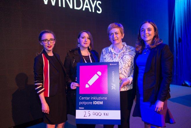 Na WinDaysima prikupljeno 25.000 kn za  Centar inkluzivne potpore IDEM