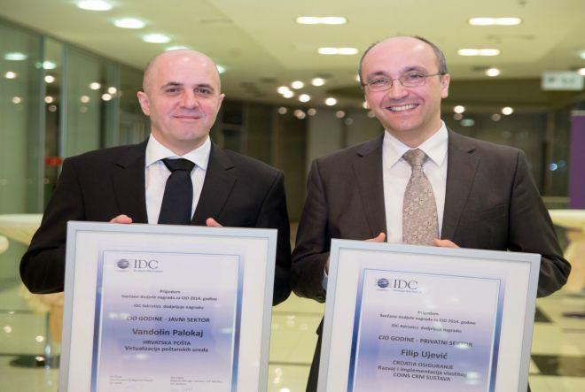 IDC CIO Awards 2015 - Ujević i Paloka