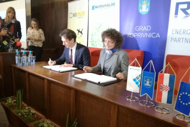RWE postao strateški partner Grada Koprivnice u plinskom poslovanju