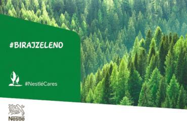 Biraj Zeleno za promicanje odgovornog ponašanja prema okolišu