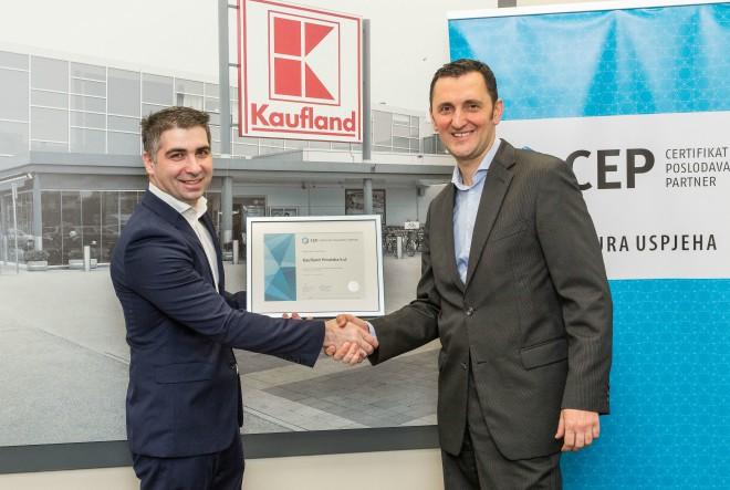 Kaufland Hrvatska novi nositelj Certifikata Poslodavac Partner