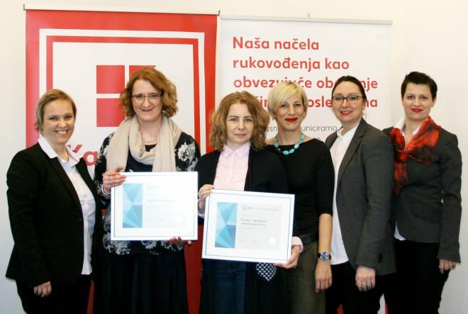 Kaufland Hrvatska ponovno nagrađen Certifikatom Poslodavac Partne