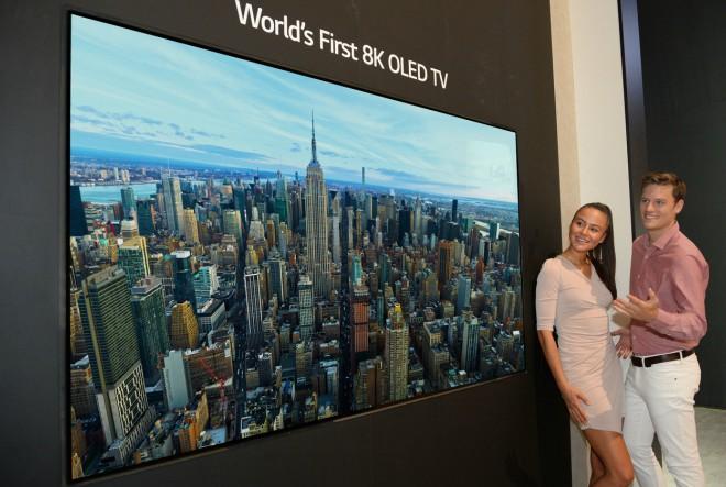 LG predstavlja prvi 8K OLED televizor