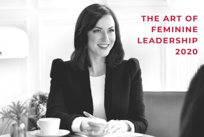 Laura Tynan na trećem izdanju konferencije The Art of Feminine Leadership