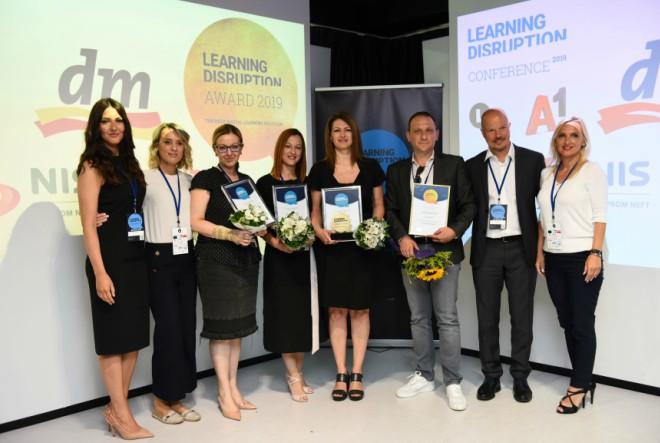 dm najbolji na natječaju Learning Disruption Award