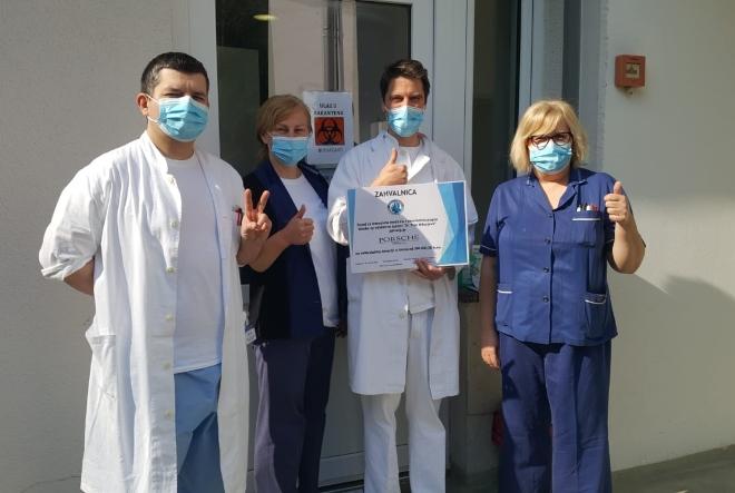 Porsche Croatia donirala 300 tisuća kuna Kliici za infektivne bolesti dr. Fran Mihaljević