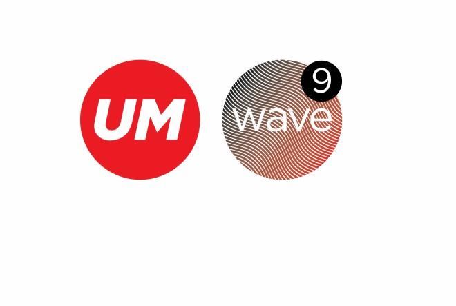 LogoUM+Wave9
