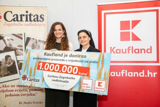 Kaufland nastavlja s donacijama namirnica i sprječava bacanje hrane