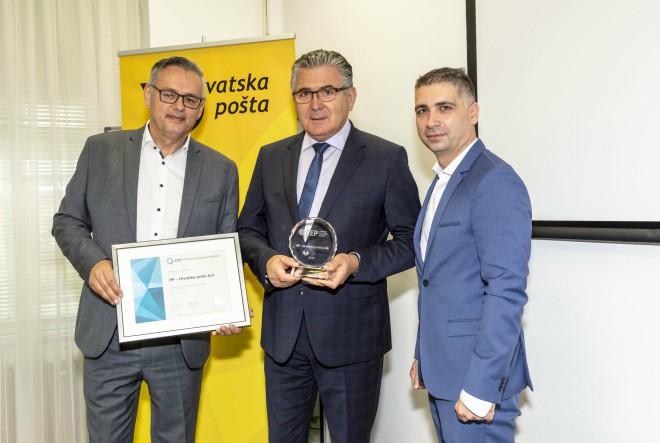 Prestižno priznanje najvećem poslodavcu u Hrvatskoj za izvrsnost u upravljanju ljudskim resursima