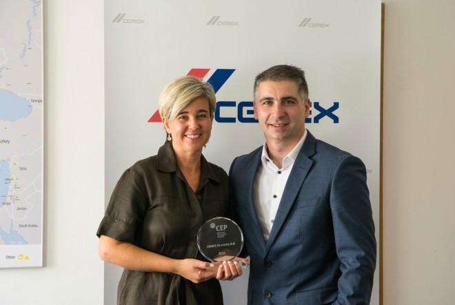 CEMEX Hrvatska ponovno dobitnik certifikata Poslodavac Partner