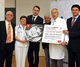 PBZ Card uručio donaciju Kliničkoj bolnici Merkur