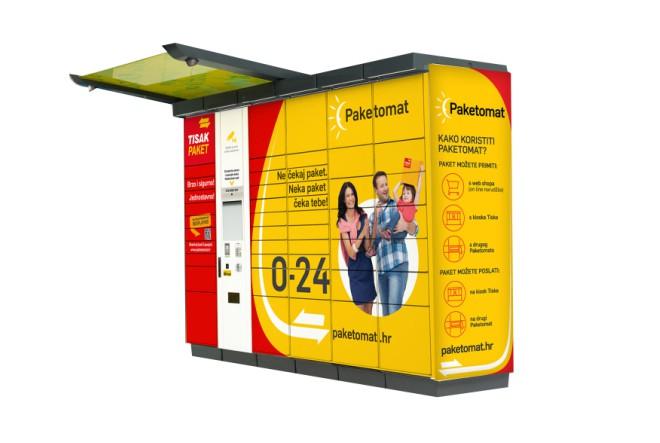 Tisak paket Paketomat – strateški partner novog online malla Abrakadabra