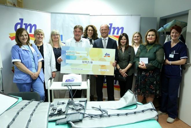 Donacija dm-a KBC-u Zagreb olakšat će liječenje i oporavak žena oboljelih od raka dojke